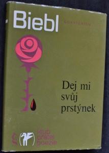 náhled knihy - Dej mi svůj prstýnek : výbor z milostné poezie