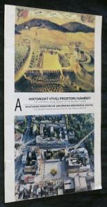 náhled knihy - Historický vývoj prostoru náměstí a současné prostorové uspořádání městského centra