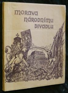 náhled knihy - Morava Národnímu divadlu 1983