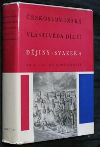 náhled knihy - Československá vlastivěda díl II. Od r. 1781 do současnosti