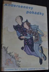 náhled knihy - Andersenovy pohádky.