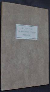 náhled knihy - Z věčných pokladnic poesie německé