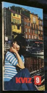 náhled knihy - Kviz, ročník 2. sešit 9. 1968