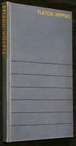 náhled knihy - Hippias větší ; Hippias menší ; Ion ; Menexenos