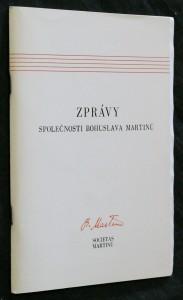 náhled knihy - Zprávy společnosti Bohuslava Martinů 22