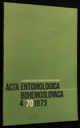 náhled knihy - Acta Entomologica, Bohemoslovaca 4/70/1973