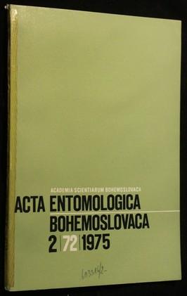 náhled knihy - Acta Entomologica, Bohemoslovaca 2/72/1975