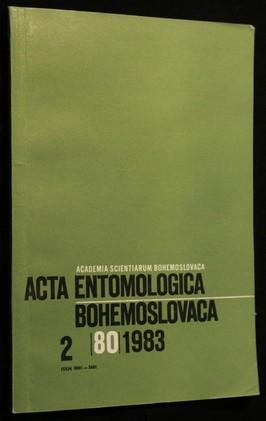 náhled knihy - Acta Entomologica, Bohemoslovaca 2/80/1983