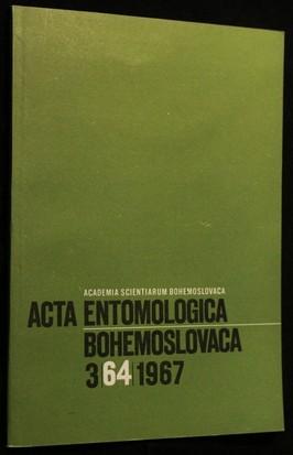 náhled knihy - Acta Entomologica, Bohemoslovaca 3/64/1967