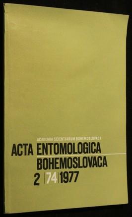 náhled knihy - Acta Entomologica, Bohemoslovaca 2/74/1977