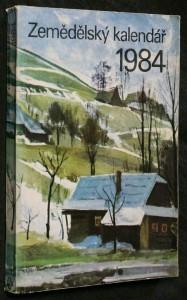 náhled knihy - Zemědělský kalendář 1984