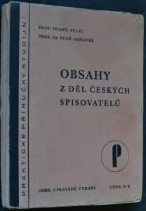 náhled knihy - Obsahy z děl českých spisovatelů