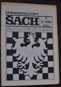 náhled knihy - Moravskoslezský šach 11/1990