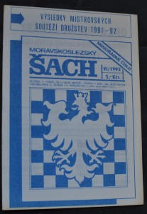 náhled knihy - Moravskoslezský šach : mimořádné vydání, č. 6