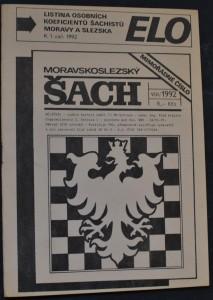 náhled knihy - Moravskoslezský šach : mimořádné vydání, č. 8