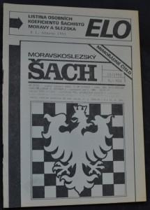 náhled knihy - Moravskoslezský šach : mimořádné vydání, č. 2