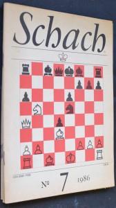 náhled knihy - Schach, č. 7, 9, 10