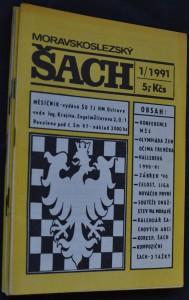náhled knihy - Moravskoslezský šach, č. 1, 2, 6, 7-8, 9, 11