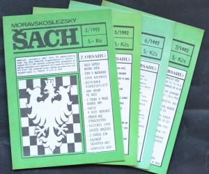 náhled knihy - Moravskoslezský šach, č. 2, 3, 6, 7