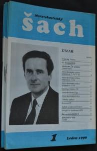 náhled knihy - Moravskoslezský šach, č. 1, 2, 4, 5, 6, 8, 9, 11