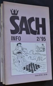 náhled knihy - ŠACHinfo, č. 2, 3, 4, 5, 7, 10, 11, 13