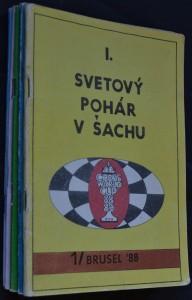 náhled knihy - Svetový pohár v šachu, č. 1 - 6