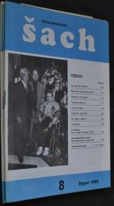 náhled knihy - Moravskoslezský šach, č. 8, 10, 11, 12