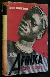 náhled knihy - Jižní Afrika včera a dnes