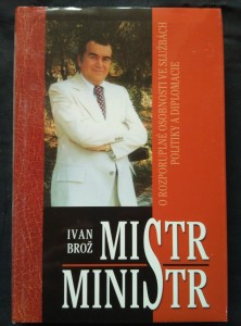 náhled knihy - Mistr ministr (pv, 248 s.)