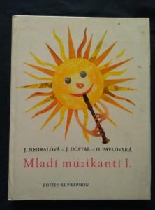 náhled knihy - Mladí muzikanti I. + zpěvníček (A4, lam, 104 s., il. J. Herink)