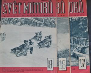 náhled knihy - Svět motorů 1963 - č. 8, 16, 17