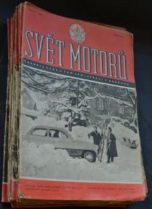 náhled knihy - Svět motorů 1960, č. 1- 13, 15-21, 23-26