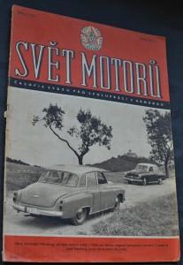 náhled knihy - Svět motorů 1956, č. 7