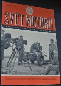 náhled knihy - Svět motorů 1955, č. 4