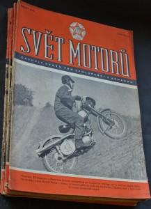 náhled knihy - Svět motorů 1954, č. 1-10, 12-14, 16, 21