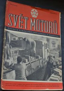 náhled knihy - Svět motorů 1953, č. 137, 144, 154, 155
