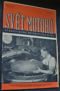 náhled knihy - Svět motorů 1950, č. 74