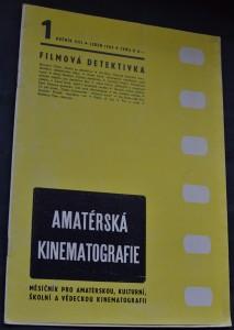 náhled knihy - Amatérská kinematografie, č. 1 Filmová detektivka