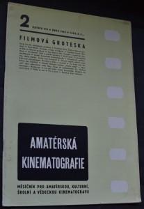 náhled knihy - Amatérská kinematografie, č. 2 Filmová groteska