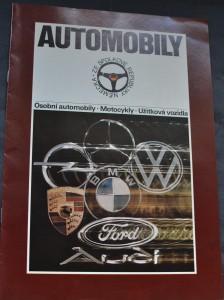 náhled knihy - Automobily ze Spolkové republiky Německo