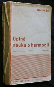 náhled knihy - Úplná nauka o harmonii na základě melodie a rytmu. Díl I, Methodika a příklady