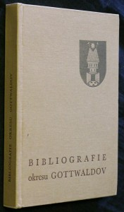 náhled knihy - Bibliografie okresu Gottwaldov