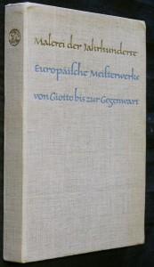 náhled knihy - Malerei der jahrhunderte europäische meisterwerke von giotto bis zur gegenwart