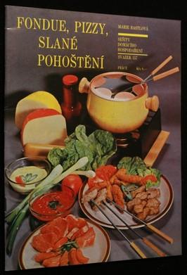 náhled knihy - Fondue, pizzy, slané pohoštění