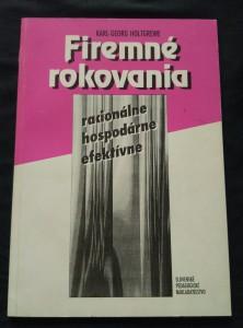 náhled knihy - Firemné rokovania - racionálne, efektívne