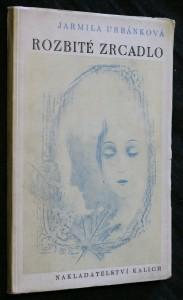 náhled knihy - Rozbité zrcadlo : [verše]