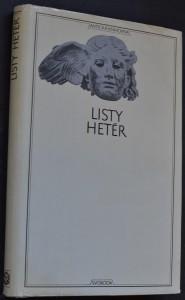 náhled knihy - Listy hetér