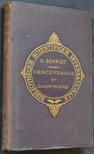 náhled knihy - Descendance et Darwinisme