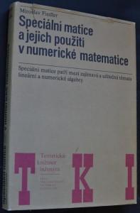 náhled knihy - Speciální matice a jejich použití v numerické matematice