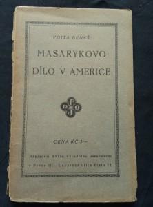 náhled knihy - Masarykovo dílo v Americe (Obr, 88 s.)